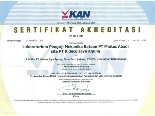 SNI ISO 17025 : 2008