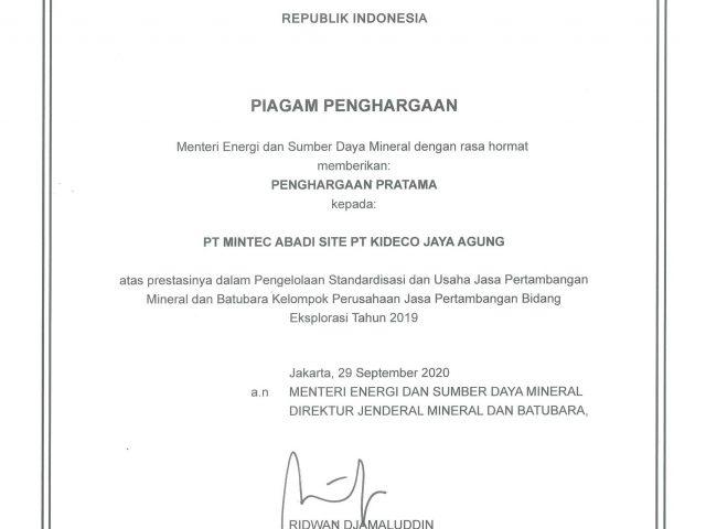 Minerba Award